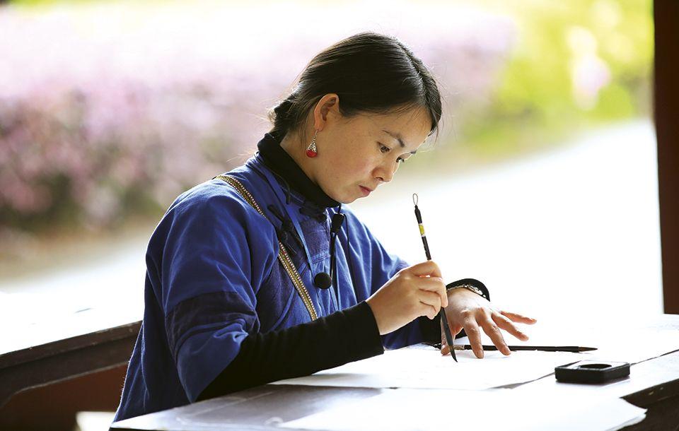 ¿Sabías que hay un sistema de escritura usado solo por mujeres?