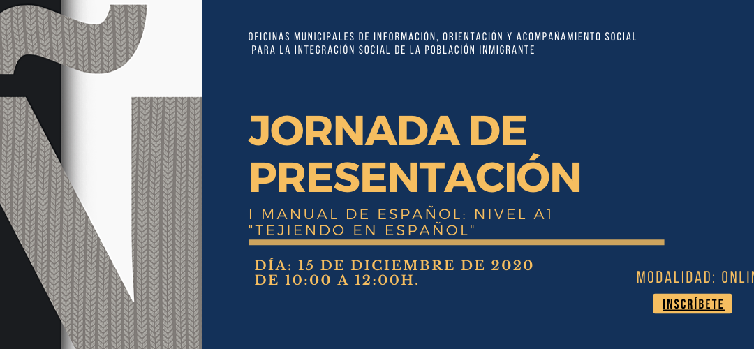 JORNADA I MANUAL «TEJIENDO EL ESPAÑOL A1»