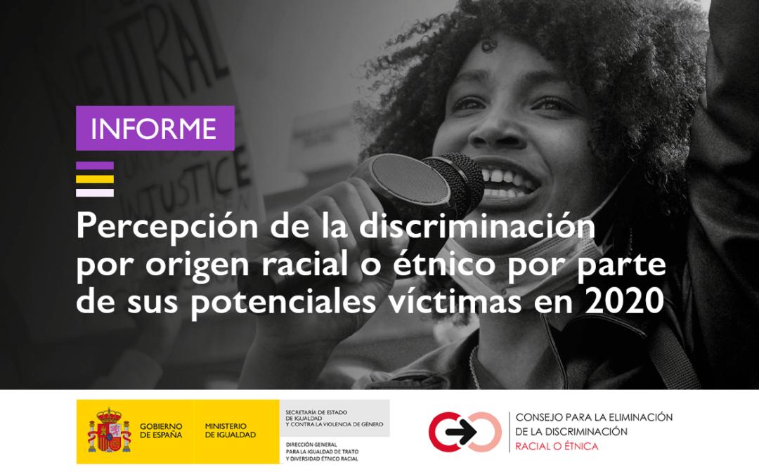 Informe sobre Percepción de la discriminación racial o étnica 2020